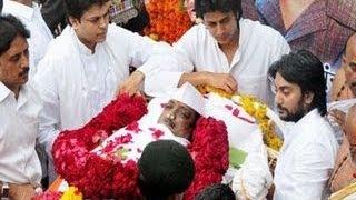 Vilasrao Deshmukh Funeral at Latur