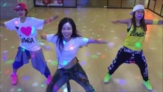 getlinkyoutube.com-Zumba   Bomba Chikita -  Edalam feat MYF & Cuban MOB - Choreography by ShinDong