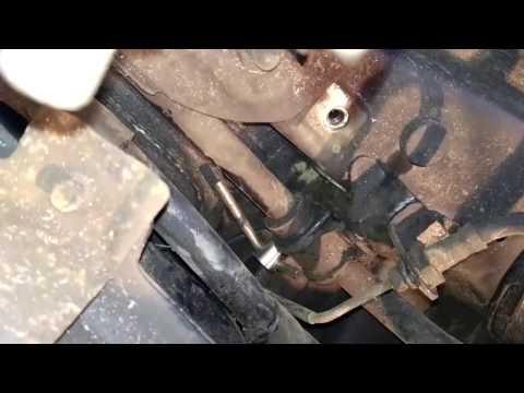Замена втулок стабилизатора поперечной устойчивости передней, задней подвески Chery Tiggo
