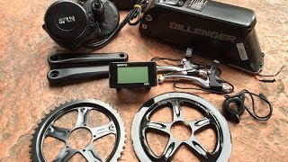 getlinkyoutube.com-Dillenger Bafang Mid Drive Electric Bike Kit in for Review | Electric Bike Report