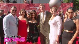 getlinkyoutube.com-John Cena, The Bella Twins and their family walk the ESPYs red carpet: Total Divas, Jan. 18, 2017
