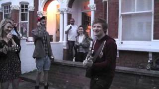 "getlinkyoutube.com-Ed Sheeran playing ""You need me I don't need you"" at our street party"