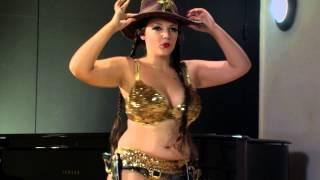 Undine LaVerve Burlesque Showreel 2013