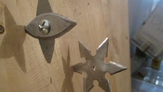 Foldable Throwing Star(+ Homemade Shuriken)