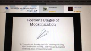 Modernization theory for sociology