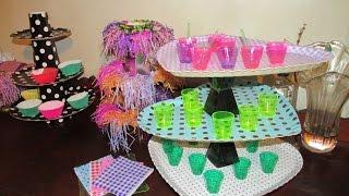 getlinkyoutube.com-Suporte para cupcakes, docinhos e bolas  (facíl de fazer)