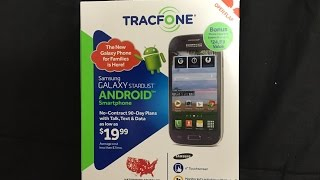 getlinkyoutube.com-Tracfone Samsung Galaxy Stardust No Contract Phone