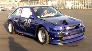 getlinkyoutube.com-800bhp Ford Escort RS Cosworth HUGE FLAME & REVS SOUND!!!