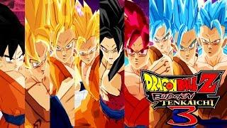 getlinkyoutube.com-Goku FNF,SSJ,SSJ2,SSJ3,SSJ4,SSJGOD,SSJBLUE,SSJ2BLUE,SSJ3BLUE [Dragon Ball Z Budokai Tenkaichi 3]