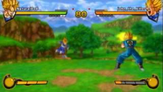 getlinkyoutube.com-Playstation 3 DragonBall Z: Burst Limit Online Match #11