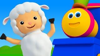 getlinkyoutube.com-Bob The Train | Mary Had A Little Lamb | Nursery Rhymes For Kids | 3D Baby Songs kids tv