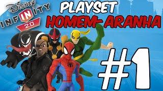 getlinkyoutube.com-Disney Infinity 2.0 - Homem-Aranha #1