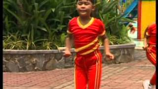Senam Ceria 1 untuk anak PAUD Indonesia