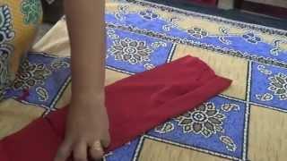 getlinkyoutube.com-How To Cut and Stitch Simple Salwar