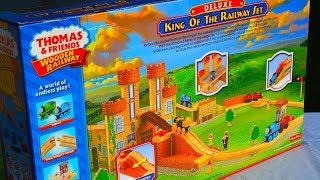 getlinkyoutube.com-Thomas & Friends KING OF THE RAILWAY Deluxe Set By Fisher Price