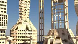 getlinkyoutube.com-3000 KEVA planks in slow motion (Updated) - Bullet Physics