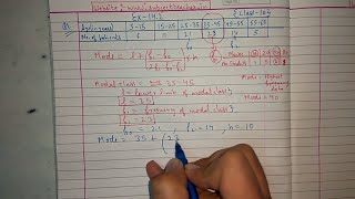 Chapter 14 Exercise 14.2 (Q1) STATISTICS of Maths class 10