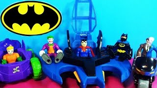 getlinkyoutube.com-D.C Nation Super Freinds Imaginext Batman Gift Set with Joker, Two-Face, Super-Man & Aquaman