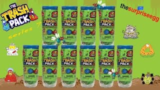 getlinkyoutube.com-NEW The Trash Pack - Series 7 Junk Germs - 2 pack Test Tube mystery toys unboxing