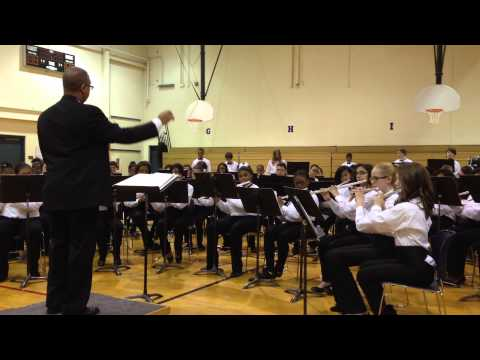 Crete Monee Middle School Winter Band Concert 2013 video D