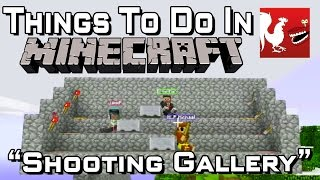 Things to Do In Minecraft – Shooting Gallery
