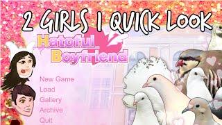 getlinkyoutube.com-2 Girls 1 Quick Look - Hatoful Boyfriend: The Bird Dating Simulator