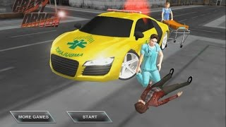 getlinkyoutube.com-Crazy Driver Ambulance Duty 3D - Android Gameplay HD