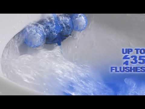 Bref Blue Active Eucalyptus Rim Block Toilet Cleaner 50g
