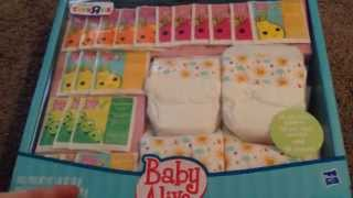 getlinkyoutube.com-Baby Alive Super Refill Pack Unboxing