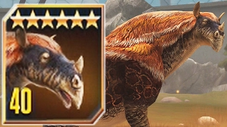 INDRICOTHERIUM MAX LEVEL 40 - Jurassic World The Game