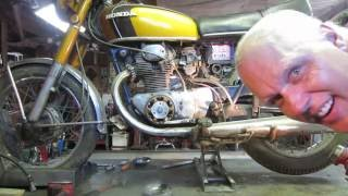 barn find, 1971 honda cb 350 motorcycle