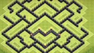 getlinkyoutube.com-Clash of Clans Th9 Farming Base (Loot Protection 2.0)