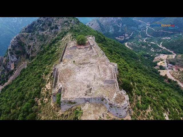 Souli - koungi - Kiafa castle drone flight