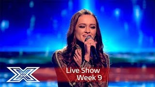 Emily Middlemas fights for her place in the Grand Final | Results Show | The X Factor UK 2016