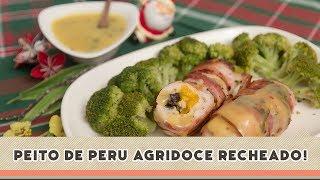 getlinkyoutube.com-Peito de Peru Agridoce - Receitas de Minuto #130