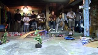 An Incredible Basement RC Drift Track - RCTV