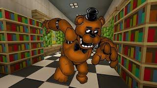 getlinkyoutube.com-Minecraft Xbox - Five Nights At Freddy's 11 - The Library