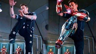 getlinkyoutube.com-Así se vería IRON MAN 3 sin efectos especiales