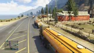 getlinkyoutube.com-GTA Online: trucking adventure