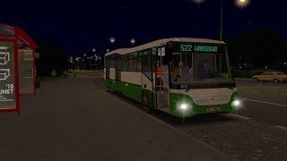 getlinkyoutube.com-OMSI 2, Štetínsky nočák s autobusom SOR BN 12