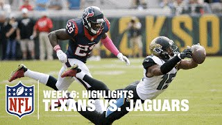 getlinkyoutube.com-Texans vs. Jaguars | Week 6 Highlights | NFL