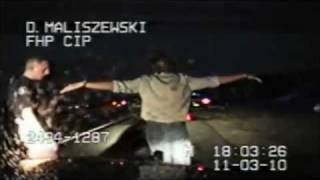 getlinkyoutube.com-David Cassidy Of Partridge Family DUI Dashcam Arrest In Florida! (Full Video)