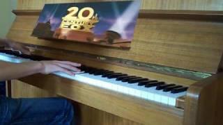 """getlinkyoutube.com-""""20th Century Fox Fanfare"""" Piano Cover"""