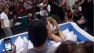 Exxxotica Chicago 2012: Alexis Texas wrestles Tanya Tate