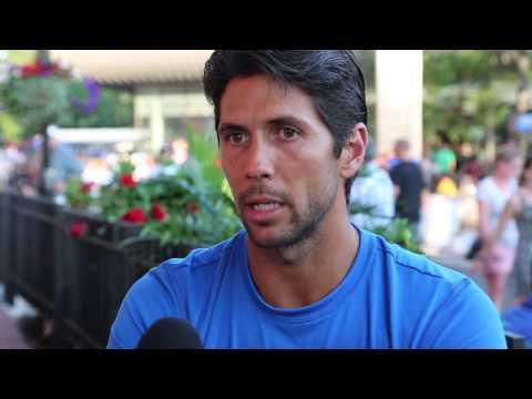 US Open 2014 Monday Interview Verdasco
