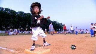 getlinkyoutube.com-Pint-Sized Boy's Big Baseball Dream | ABC World News Tonight | ABC News