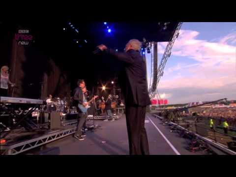 "Tom Jones ""Mama told me not to come""- T in the Park"