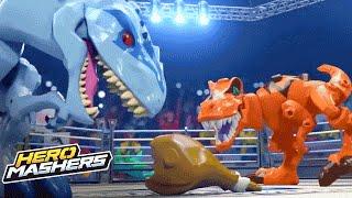 getlinkyoutube.com-Jurrasic World Hero Mashers – Ultimate Cage Mash (Episode 1) – Hasbro