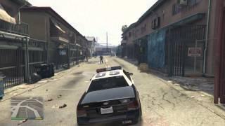 GTA 5 COPS Episode 2 - Xbox One HD - Officer De Santa Patrol