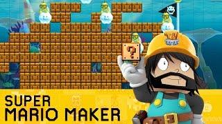 getlinkyoutube.com-Super Mario Maker - Making My First Level!